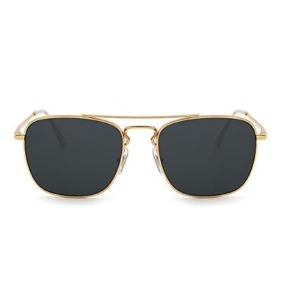 Gafas de Sol Retro Aviador Cuadradas, Gafas de sol mujer, gafas de sol, hombre, moda steampunk, oferta steampunk