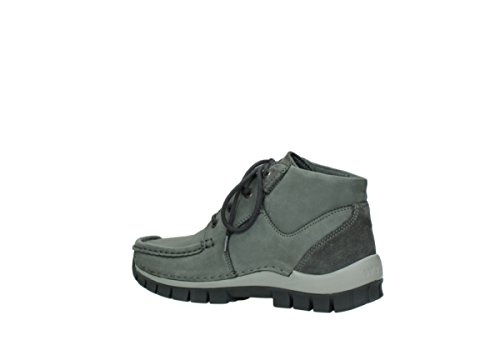 Wolky Comfort Chaussures à lacets Seamy Cross Up 10220 nubuck gris