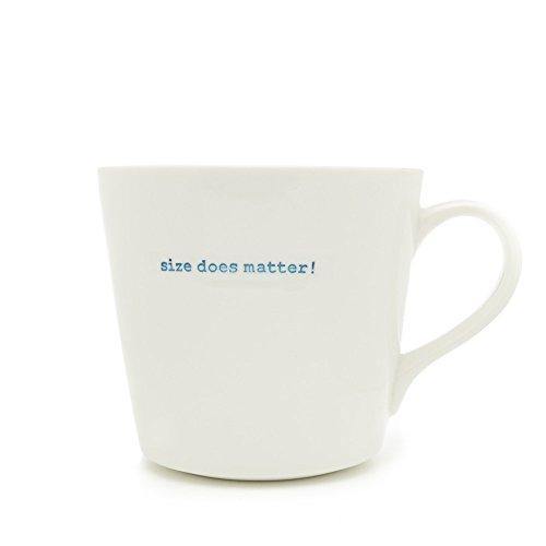 Keith Brymer Jones Porcelaine Taille ne Soit «Mug Super Blanc
