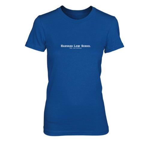 Harvard Law School. Nah, just kidding. - Damen T-Shirt Blau