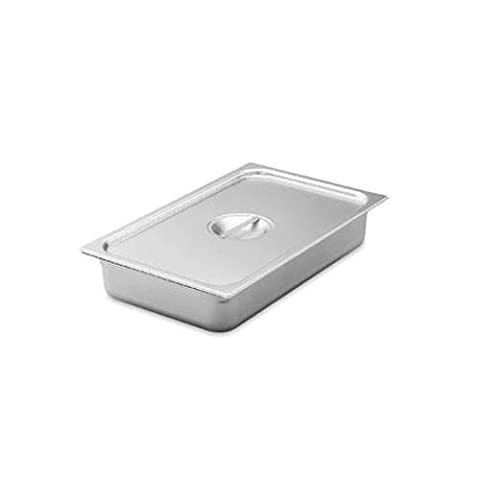 Vollrath 75160 Super Pan V, Steam Table Pan Cover, 1/6 Size, S/S