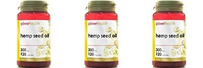(3 PACK) - Power Health - Hemp Seed Oil 300mg | 120's | 3 PACK BUNDLE by POWER HEALTH