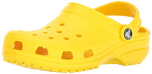 Crocs Classic Clog Kids-Unisex Kindern, Gelb (Lemon), 32-33 EU (J1 UK)