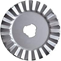 Fiskars Cuchilla Rotatoria de repuesto Ø45 mm, para corte Zigzag, 1003735