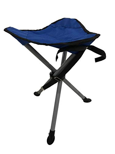 HOMECALL Camping folding stool, 3-leg Chair, seat