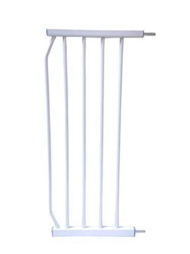 Kiddale Metal Safety Gate (200Mm/20Cm/8 Inch) Extension, White
