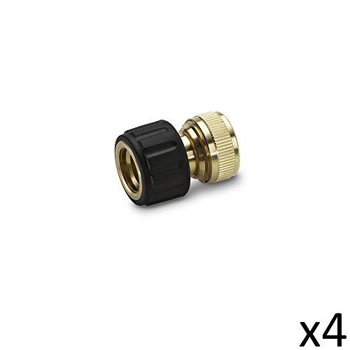 Karcher Kit de 4 Raccords en Laiton 19mm - 2.645-016.0