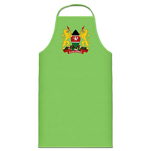 Shirtcity Kenia Wappen Kochschürze by -