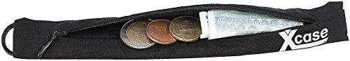 Xcase Gürtelgeldbörse: Diebstahlsichere Geldgürtel-Reise-Geldbörse, passend für alle Gürtel (Gürtel Portemonnaie)