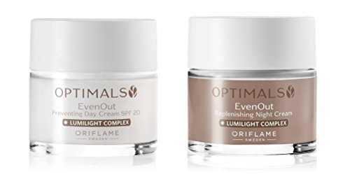 Oriflame Optimals Even Out Set Day Cream SPF20 & Night Cream