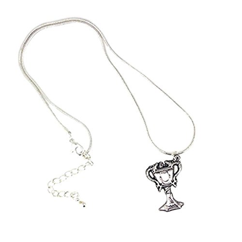 Official Hogwarts Silver Plated Triwizard Cup Necklace Pendant