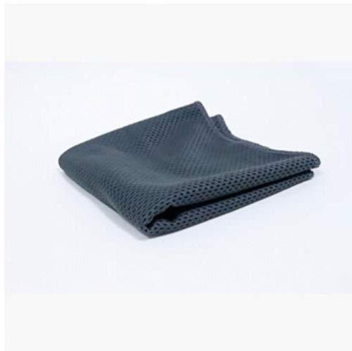 BEARCOLO Fitness Gym Yoga Chill Handtücher für Workout, Sport und Sport - sofort kühlendes Handtuch, Mikrofaser-Stoff, schnelltrocknend, dunkelgrau, 30×90cm - Frei Von Chemikalien Sonnenschutzmittel