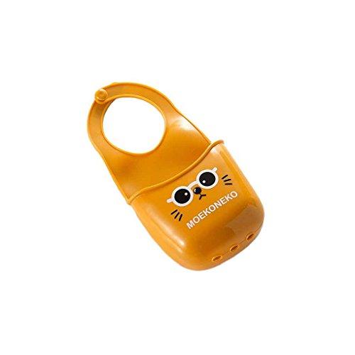 meisijia Badezimmer Karton Haken Regale Seifenhalter Küche Spültuch Schwamm Halter Lagerung braun (Schwamm Wäscher Und Halter)