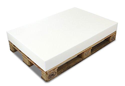 MSS® PALETTENKISSEN MATRATZENKISSEN (120x80x8 cm) SCHAUMSTOFF FÜR EUROPALETTE / HUNDEKISSEN / AUFLAGE