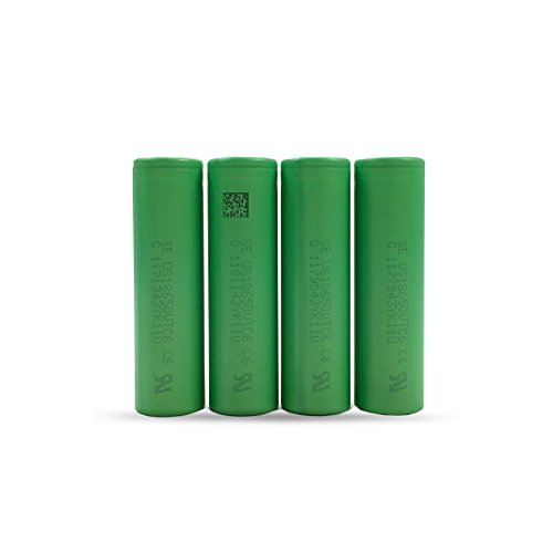 Foto de Sony Konion 4x US18 650VTC6 battery (3120 MAH/3.6 V/30 A/Li-Ion) VTC6 18650