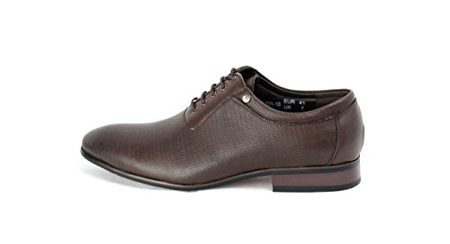 Chaussures Homme Mode Cuir Italien Look Style Oxford taille EU 23 7 8 9 10 11 Café