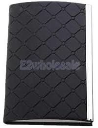 SLB Works Brand New Awesome Business Card Holder Fits Pocket/Purse/Bag Pocket Size Holder Black