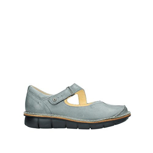 Wolky Cordoba 326 grey blue leather