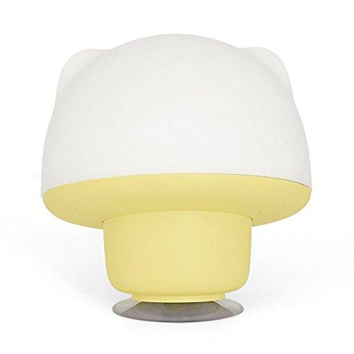 LongYu Nuit Lumière Silicone Mignon Pat USB Charge coloré Animal Alimentation Tactile LED Chevet meunier Lampe de Table économie d'énergie lumière Douce luminosité réglage Timing (Color : Yellow)