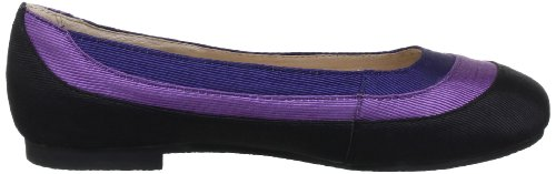 Lise Lindvig 131 216 90, Ballerines femme Multicolore (Black/Purple/Blue 90)