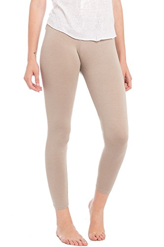 Abbino Dominic Basic Legging Damen - Made in Italy - 9 Farben...