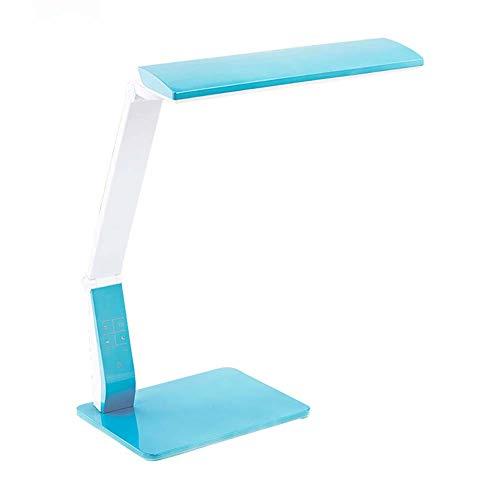 Lampe de Table_LED Lampe de Protection des Yeux, Réglage de la luminosité 4, Interface de Chargement USB, Ajustement d'angle Divers, Convient à la Chambre à Coucher, Bureau, dortoir, etc.