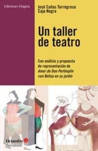 Un taller de teatro : con análisis y propuesta de presentación de Amor de Don Perlimplín con Belisa en su jardín