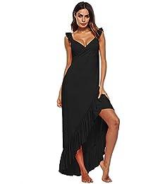 0dbff24e3e7 HITSAN INCORPORATION Swimwear Women Long Beach Dress Cover Up Tunic  Beachwear Swimsuit Bathing Suit Tassel Lady Pareo Cape…