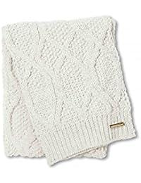 43353d0279a2 Katie Loxton Écharpe blanche en tricot torsadé