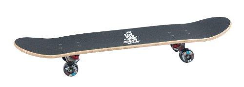 Authentics Sports Skateboard No Rules ABEC 3 Xtreme, schwarz, 3104