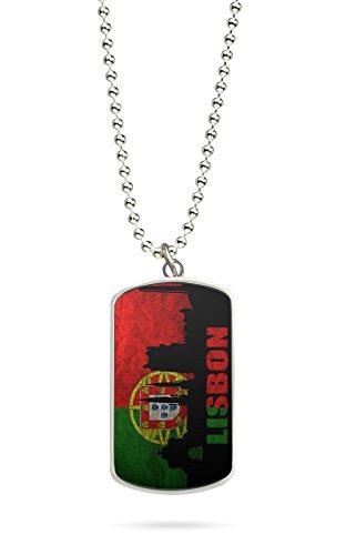 Kette Dog Tag Anhänger Portugal Lissabon 3