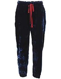 Kocca Pantalone Donna XS Blu Tulipa Autunno Inverno 2018 19 6a1ff4e0690
