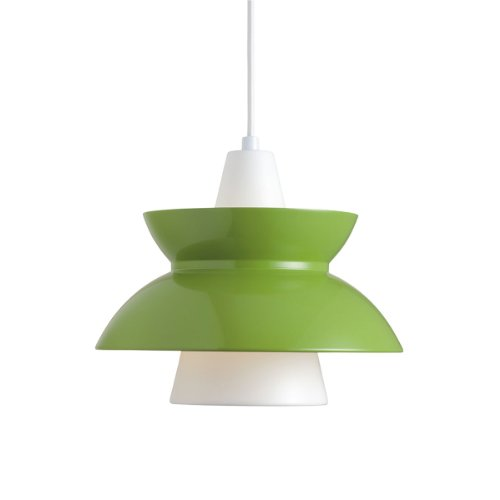 Louis Poulsen-Doowop lampada-Verde-Design-Lampada da soffitto-Lampada a sospensione-Lampada da