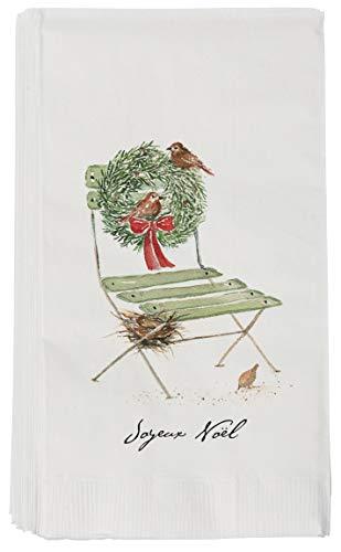 Sullivans Gästetuch French Chair Pkg 16 - Pkg-floral Design