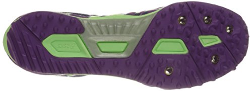 Asics Womens Hyper Rocketgirl XC Spike Shoe Grape/Pistachio/Blue