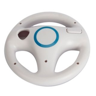 Ameego Steering Wheel design stand Mario Kart Racing Game Steering Wheel stand per Wii Game controller