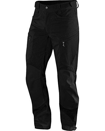 Haglöfs Herren Robuste Hose Rugged II Mountain Pants, Trueblack Solid, M, 6026072W4020 (Pants Knit Solid)