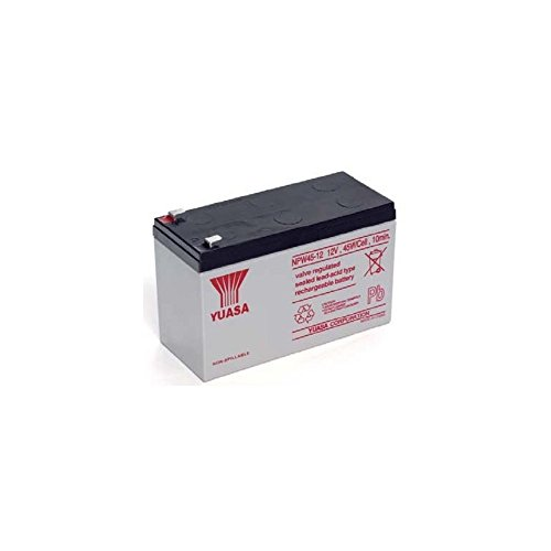 Yuasa 8889766400 Batterie pour UPS 12 V 8,5 Ah, Npw45-12 (Faston 250 6,30 mm)