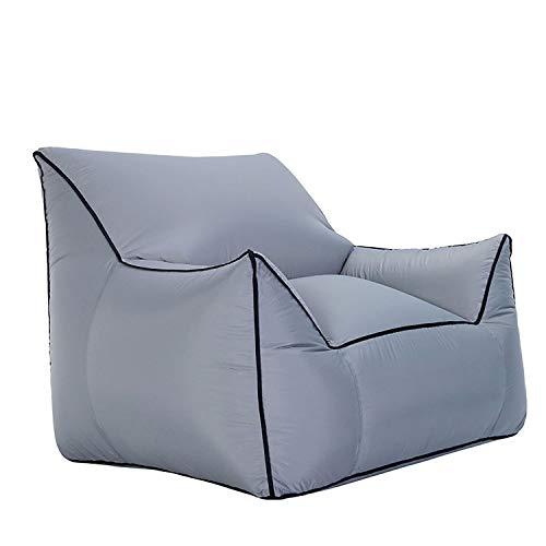 Wand-8-CC Outdoor aufblasbares Sofa Couch Lounge Sessel Strand Camp Chaise Longue für Camping Wandern Picknickmatte Garten Sitzsack Air Hängematte