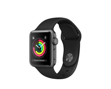 Apple MQKV2ZD/A - APPLE WATCH SERIES 3 GPS 38 - Watch Series 3, 38mm, GPS, S3, W2, 8GB, Wi-Fi, Bluetooth, watchOS 4