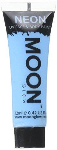 l Neon UV Körperfarben Bodypaint - 12ml Blau (Uv-bodypaint)