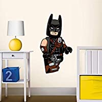 LEGO 52372 Batman Staticker Wall Sticker, Mehrere Farben
