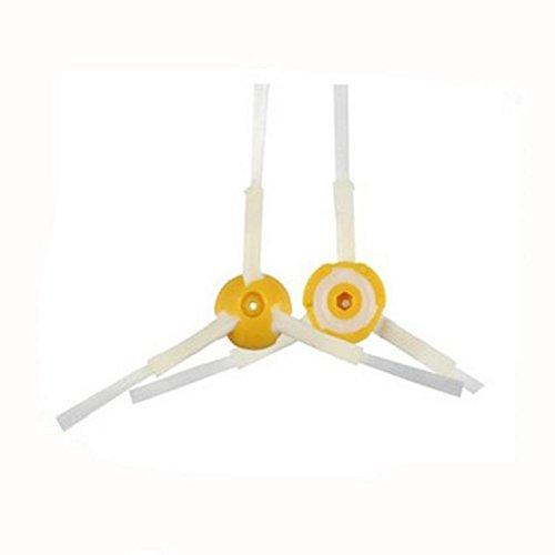 Tonsee 1 x Borsten und Schläger Pinsel Set + 6 x Gelb Hepa Filter für Irobot Roomba 700er Serie Hepa Nachschub Kit 760 770 780 790 Artikel - 4