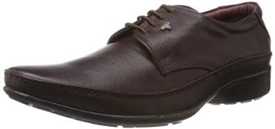 Provogue Men's Bordo Leather Formal Shoes