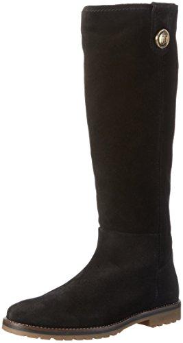 Tommy Hilfiger FW56822028 - Stivali alti con imbottitura leggera Donna Nero (black 990)