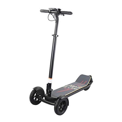 cmn Scooter adulto al aire libre Scooter eléctrico, patinete plegable de equilibrio de 3 ruedas Scooters Led Debugging Balance Car
