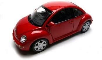 Maisto Die Cast 1:18 Scale Metallic Red Volkswagen New Beetle by Maisto Tech | De Haute Qualité