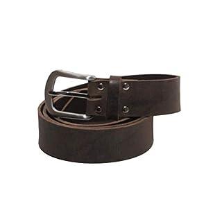 Dunkelbrauner Ledergürtel aus Büffelleder aus eigener Herstellung (85)