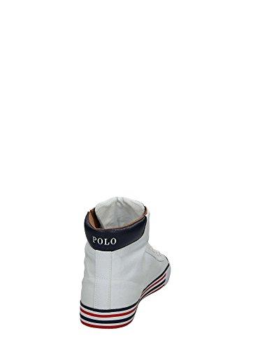 Polo Ralph Lauren Uomo Sneakers Bianco-Blu
