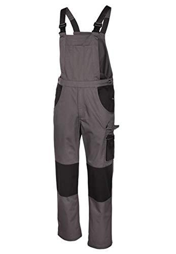 3d4003c652db Da uomo Pantaloni da lavoro Bermuda Lavoro Salopette Grau Schwarz Latz 60